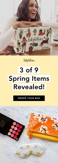 Get 20% off your 1st FabFitFunc box with code BRIGHT. That's over $200 of full-size glam-goodies for just $39.99!