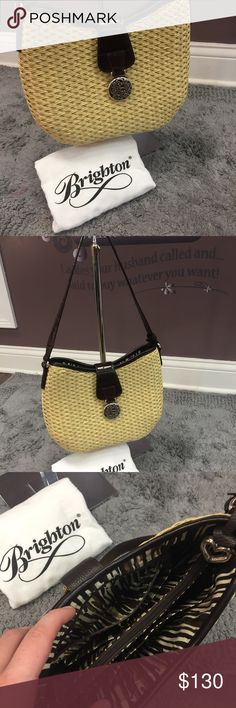 Brighton Purse This Brighton Purse is in perfect condition! It would be perfect to use in the spring time! Comment down below if you have any questions! Brighton Bags Shoulder Bags