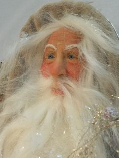 Victorian Father Christmas by Lois Clarkson american-artists.com