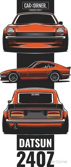 Cars Discover Nissan / Datsun Fairlady by Car-Corner Datsun 240z, Datsun Car, Japanese Sports Cars, Japanese Cars, Wordpress Theme, Merc Benz, Chevy, Jdm Wallpaper, Nissan Z