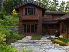 Built on Maine Mount Desert Island in 1916, a privately owned Swiss-style chalet and its teahouse sat peacefully inside Acadia National Park's boundary for nine decades. Then came the hurricane.