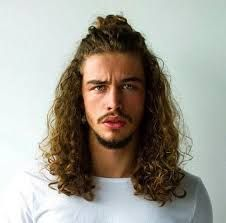 Image result for very long mens hair