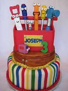 @Kathleen DeCosmo ♡♡ #KDC #Fav ♡♡   #Cake Handy Manny Cake