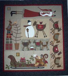 """""""Friends for Christmas"""" by Australian designer, Lynette Anderson."""