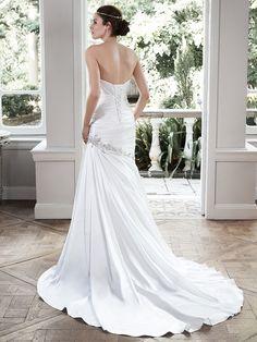 Maggie Sottero Wedding Dress Bobbi 5MW707 back