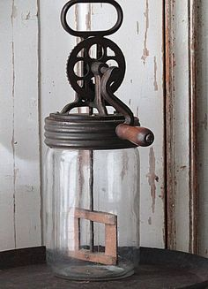 My grandmother had a newer version, but along the same idea as this one. Seems like it would be easier than the wooden-plunger type.