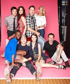Who's Steven Yeun's Girlfriend | Oh No They Didn't! - Photos from TV Guide Magazine's Comic-Con Yacht