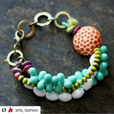 #Repost @arfa_fashion (@get_repost)  ・・・  #girlthodiofbith  #lovely #bohostyle #intresting #beadedjewelryofinstagram