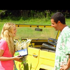 50 first dates  I love this movie.
