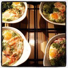 Œufs au four #cuisine #faitmaison #oeuf
