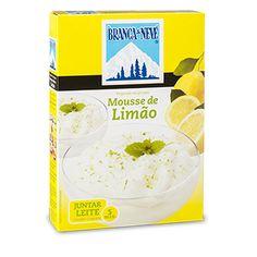Mousse sabor a Limão Branca de Neve