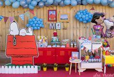Fiesta de Snoopy con imprimibles gratis. Ideas para fiesta de Snoopy #snoopy #snoopyparty #snoopyideas #fiestasnoopy