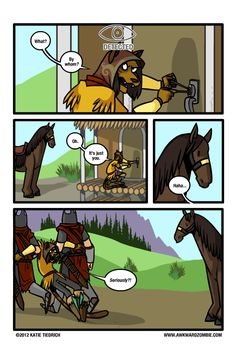 Skyrim has taught me that most horses have no tolerance for crime.