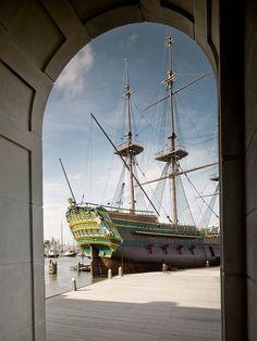 Het vernieuwde scheepvaartmuseum Amsterdam Nederland / The Netherland #DOEreizen @DOEreizen
