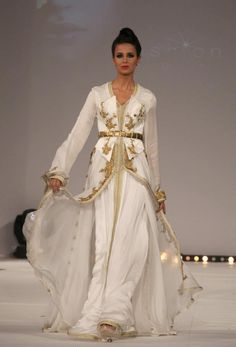 I love the traditional dresses, a kaftan or a takchita is a traditional dress in Morocco. The traditional dress is worn on special partys