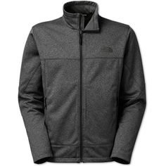 The North Face Men's Canyonwall Jacket ($99) ❤ liked on Polyvore featuring men's fashion, men's clothing, men's outerwear, men's jackets, dark grey heather, mens jackets, mens fleece jacket, mens fleece outerwear and the north face mens jackets