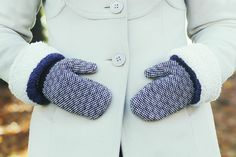 8 Nights of DIYs: Turn an Old Sweater into Cozy Mittens via Brit + Co