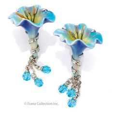Franz Collection Morning Glory Earrings