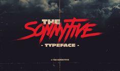 The Sonnyfive typeface on Behance Cool Typography, Typography Letters, Typography Design, Lettering, Graphic Design Fonts, Web Design, Logo Design, Dark Room Photography, Alphabet Symbols