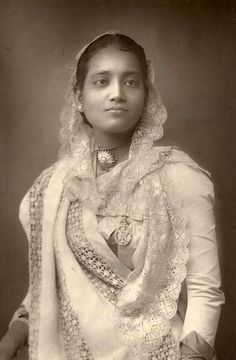 The Maharani of Kuch Behar. Sunity Devi - 1887