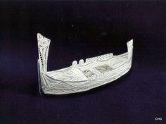 Handmade Silver Filigree Maltese Dghajsa