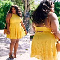 The Perfect Spring Dress #plussize #plussizefashion