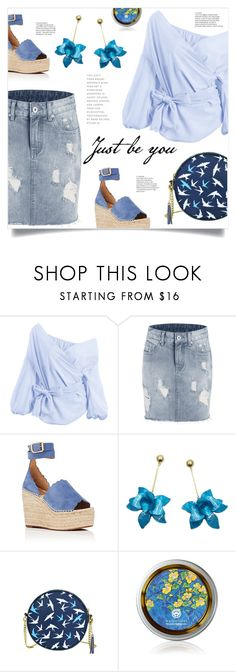 """In Blue"" by mahafromkailash ❤ liked on Polyvore featuring Chloé"