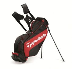 23685e5c24 TaylorMade Golf 2015 3 0 Golf Stand Carry Golf Bag - Black Red White  Taylormade