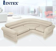double coupe sofa lazy inflatable sofa bed corner open sunset recliner, 2 or 3 people space big size air bean bag chair couch