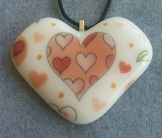 Hearts on My Heart by LeahsCreativeGlass on Etsy