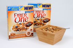 MIH Product Reviews and Giveaways: ONE WEEK! Fiber One Nutty Clusters & Almonds‏ MyBlogSpark Giveaway