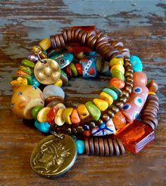 Boho Bracelet  Handmade Bracelet  from The Joy Moos Collection,  SOLD