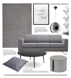 """Grey Living Room"" by lovethesign-eu ❤ liked on Polyvore featuring interior, interiors, interior design, home, home decor, interior decorating, FontanaArte, living room, livingroom and homedecor"