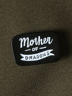 Mother of Dragons Enamel Pin - Gypsy Warrior