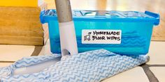 Clean Dream: DIY Reusable Floor Wipes