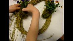 Floristik für Ostern :  Türkranz / Wreaths Tutorials ❁ Video Anleitung DIY ❁ Deko Ideen mit Flora-Shop