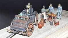 "Heeresfahrzeug ""Große Feldküche Hf.13"" Tamiya 35247 - Diorama-Set ""Feldküche HF.13"" Maßstab: 1:35 Einzelteile: 103 Länge: 200mm"