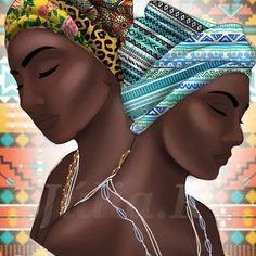 Oxum & Yemanja, as mães d'água ❤❤ #oxum #Yemanja #iemanja #osun #candomble #umbanda #aguadoce #aguasalgada #maedagua #odoya #orio #yeyeo #orayeyeo #digitalart #digitalinfluencer #digital #digitalartist