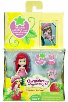 Strawberry Shortcake Hasbro Mini Doll with DVD by Hasbro. $8.98. Strawberry Shortcake Hasbro Mini Doll with DVD