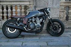 1983 Yamaha XJ900 by Black Matte
