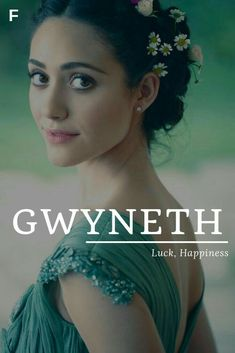 Gwyneth meaning Luck Happiness Welsh names G baby girl names G baby names female names whimsical baby names baby girl names traditional names Female Character Names, Female Names, Female Fantasy Names, Unisex Baby Names, Cute Baby Names, Welsh Names, Strong Baby Names, Feminine Names, Southern Baby Names