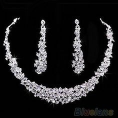 TQ Fashion Popular Wedding Bridal Charm Rhinestone Crystal Necklace Earrings Jewelry B57U, http://www.amazon.com/dp/B00KMQVT2A/ref=cm_sw_r_pi_awdm_SB0nub02HRARX