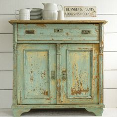 CUPBOARD IN ORIGINAL PAINT