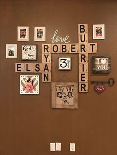 Loving U, Living Room Decor, Gallery Wall, Tumblr, Frame, Gifts, Diy, Home Decor, Free Time