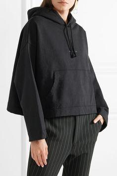 Acne Studios | Sweat à capuche raccourci en jersey de coton Joggy | NET-A-PORTER.COM