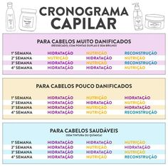Para quem tem dúvida sobre qual etapa seguir para o seu cronograma capilar est Dicas de Beleza Beauty Care, Beauty Hacks, Hair Beauty, Beauty Tips, Hair Care, Natural Hair Styles, Long Hair Styles, Grunge Hair, Bad Hair Day