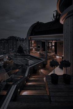Dream House Interior, Luxury Homes Dream Houses, Dream Home Design, Luxury Life, Modern House Design, Dream Rooms, Black House, Exterior Design, Future House