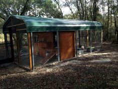 A carport chicken coop Animals Forums