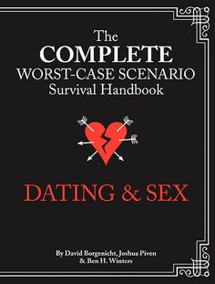 ENTER TO WIN! a signed, hardback copy of The Complete Worst-Case Scenario Survival Handbook: DATING & SEX http://www.tinseltine.com/2013/12/pnaa-presents-josh-pivens-no.html