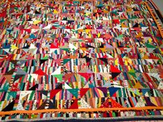 love Anna Williams' quilts.  This one in exhibit at the Brooklyn Museum, 2013.